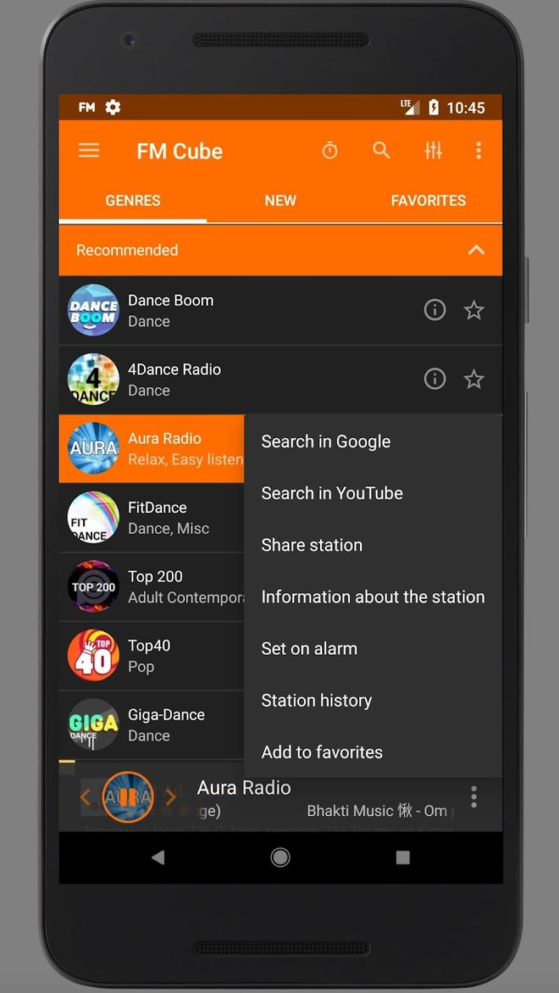 Radio - FM Cube Screenshot 1