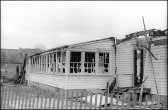 Photo: The remains of the Air Force Reserve Officer Training Cadets (ROTC) building Sunday morning, May 3, 1970.
