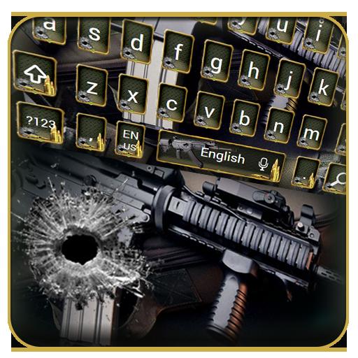 Army Gun Keyboard