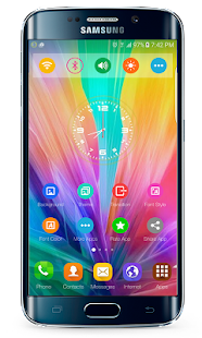 G5 launcher theme- screenshot thumbnail
