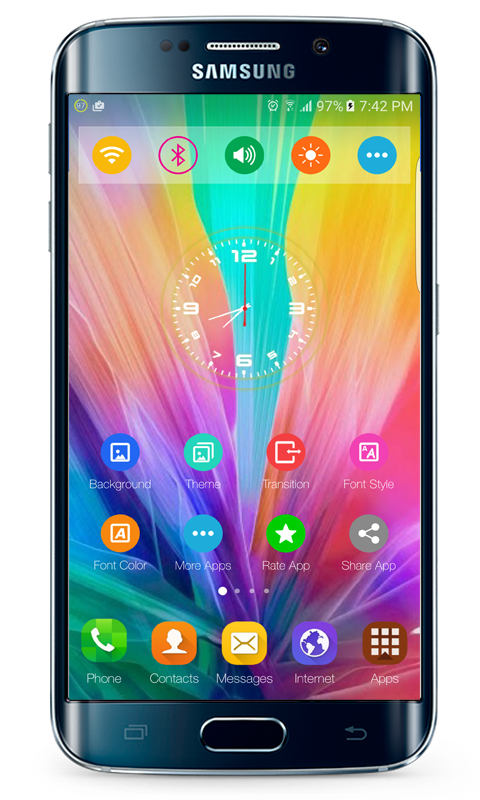 G5 launcher theme- screenshot