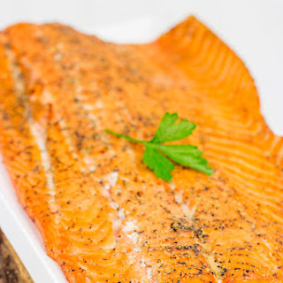 Maple Smoked Salmon.