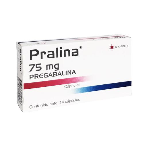 Pregabalina Pralina 75Mg 14 Cápsulas Biotech