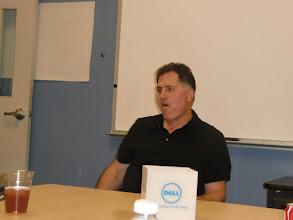 Photo: Michael Dell at DellCAP