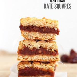 Oatmeal Date Bars
