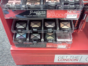 Photo: I like Rimmel products, so I picked one of these eyeshadows, on the back it shows how and where on your eye to apply it.