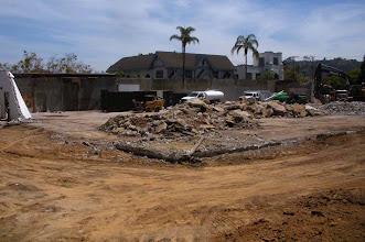 Photo: Parking Lot Dig Santa Barbara