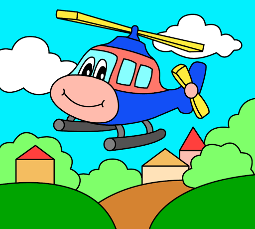 Coloring pages for children : transport  screenshots 14
