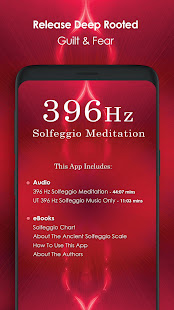 396 Hz Solfeggio Meditation - Release Guilt & Fear – Apps no Google Play