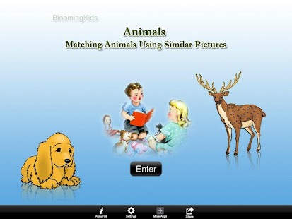 Matching Animals Sim Pic Lite- screenshot thumbnail