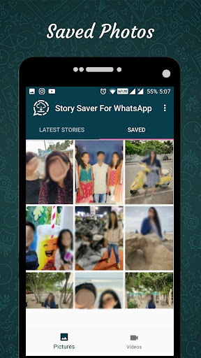 Status Saver for Whatsapp : Save Stories Images 1.12 screenshots 4