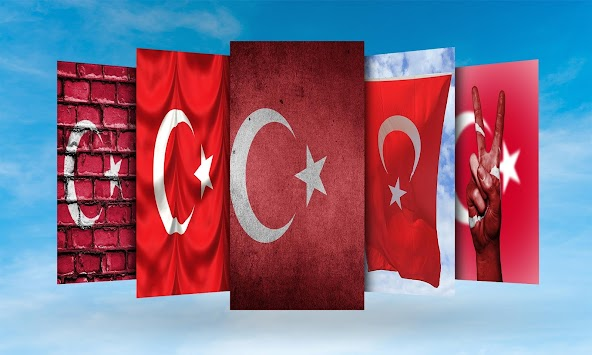 Turkey Flag Wallpaper By HD Flags Poster
