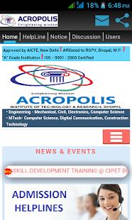 Acropolis Bhopal screenshot