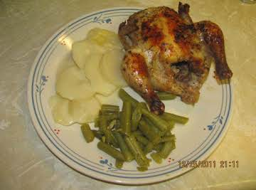 Juicy Cornish Game Hens