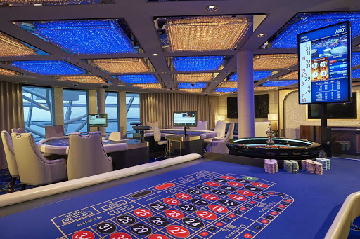 Try your luck at the Haven Casino on Norwegian Joy.