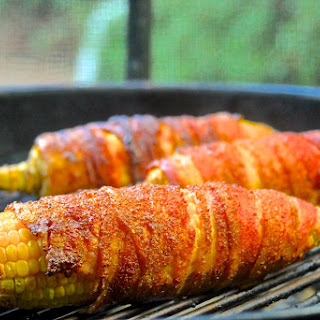 You're Bacon Me Crazy Grilled Corn
