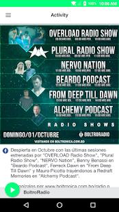 BoltroRadio - náhled
