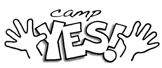 """Photo: """"Camp YES!"""" logo (v3)"""