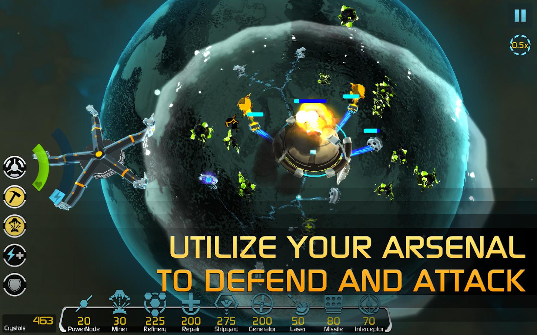 Solar Siege– captură de ecran