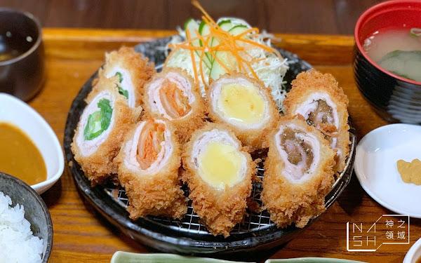 台東美食推薦 蘭田手作日式豬排 四色豚肉卷超級狂 (菜單價錢)