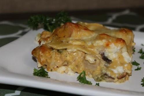 Recipe Here: 4 Cheese Chicken Lasagna