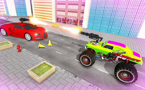 Download monster robot car transform: robot shooting war For PC Windows and Mac apk screenshot 23