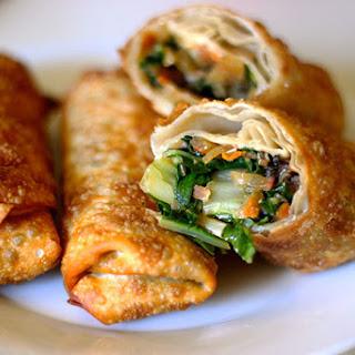 Easy Vegetarian Egg Rolls.