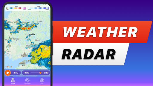 RAIN RADAR - animated weather radar & forecast Apk 1