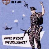 Groupement des Commandos Parachutistes de l'Air en AFN CommandosParachutistesDeLAirEnAlgRie