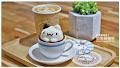 奶泡貓咖啡