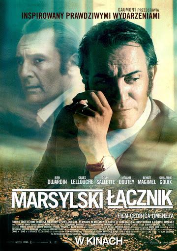 Przód ulotki filmu 'Marsylski Łącznik'