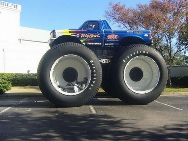 huge wheels