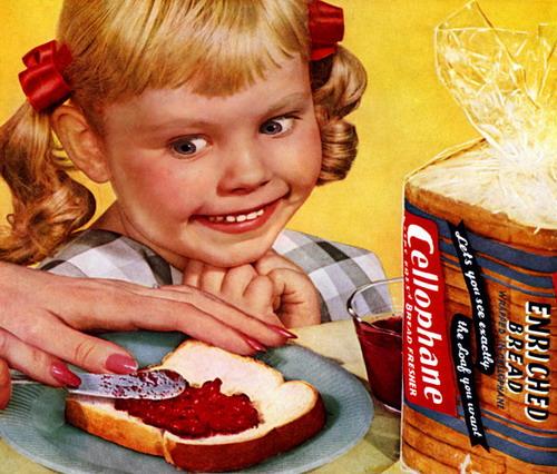 Quite Disturbing Adverts - Bread