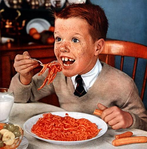 Quite Disturbing Adverts - Spaghetti