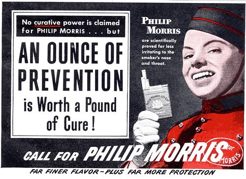 Quite Disturbing Adverts - Cigarettes