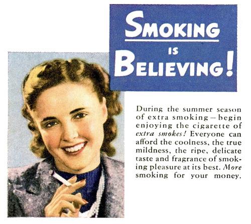 Quite Disturbing Adverts - Smoking
