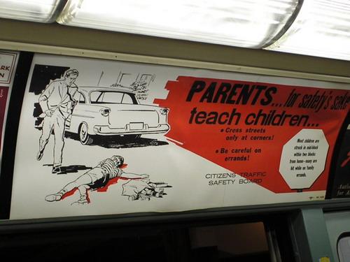 Quite Disturbing Adverts - Subway