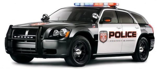 magnum police car