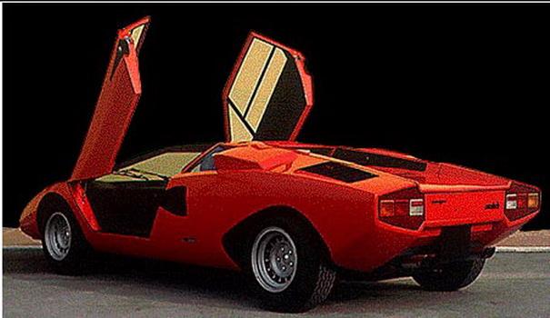 1984 lamborghini countach. 1973 Lamborghini Countach LP