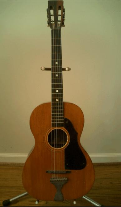 Can You I D  this pre-war Parlor Guitar? - The Unofficial