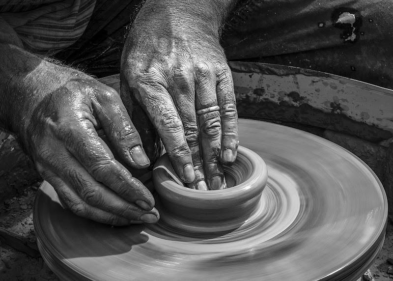Le mani del vasaio di Livius