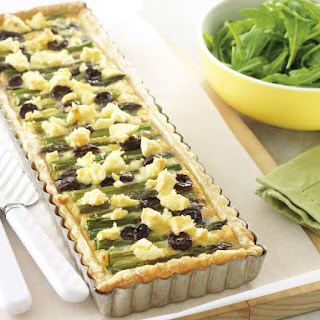 Asparagus, Tomato and Feta Tart