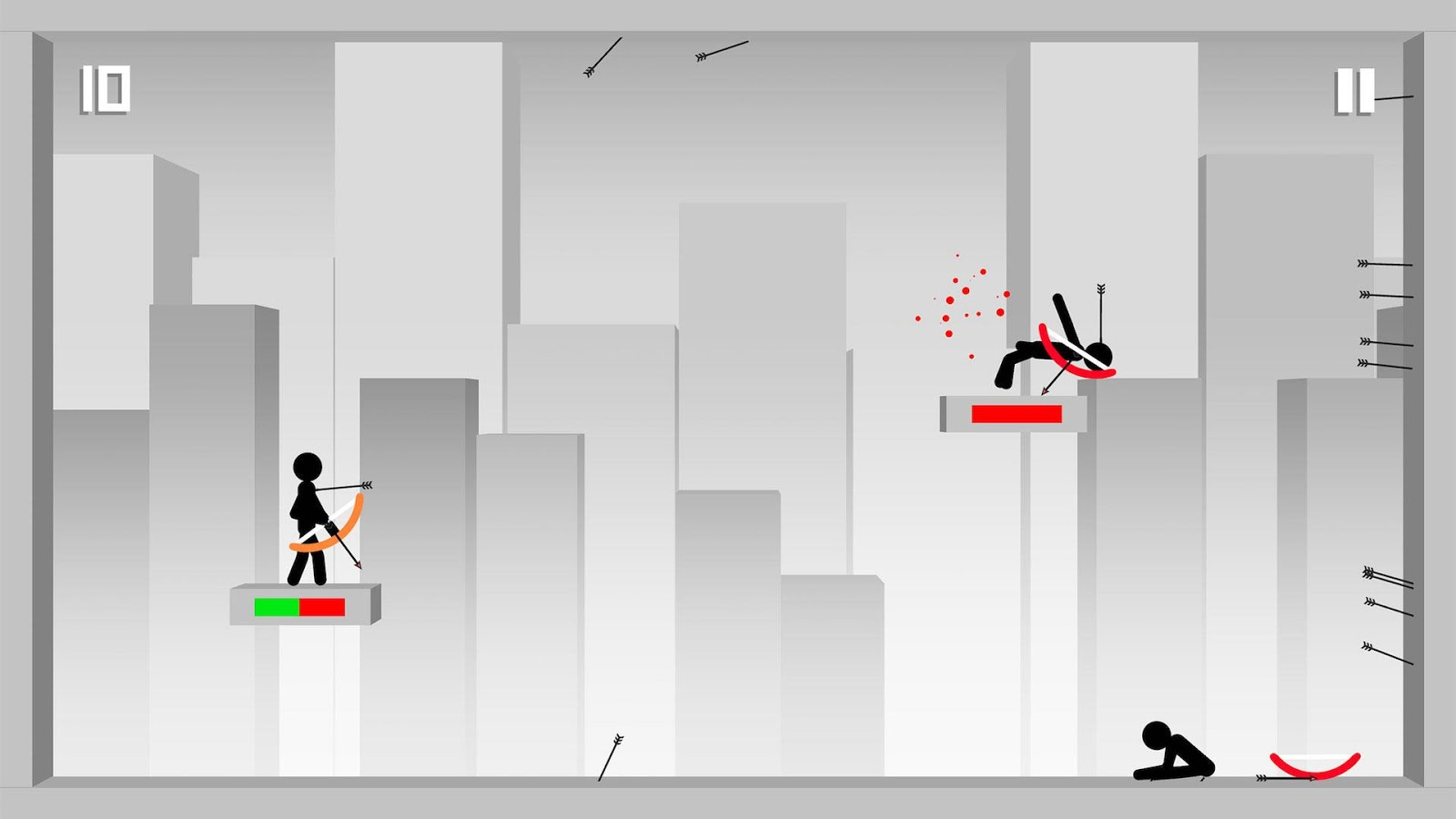 Stickman Archer- screenshot