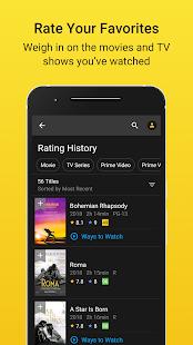 IMDb: Movies & TV Show Reviews, Ratings & Trailers Screenshot