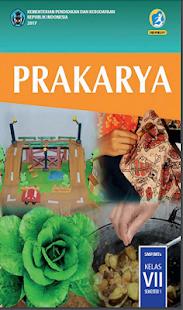 Prakarya Kelas 7 SMP - náhled