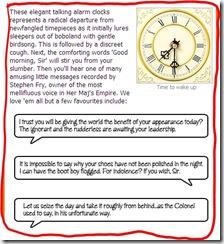 Voco Alarm Clock 2