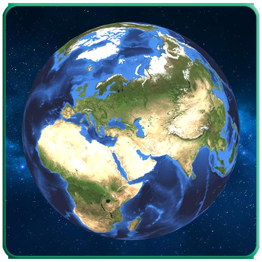 GPS Earth Satellite Map Live - Navigator