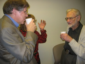 Photo: Professors Allan Gibbard and Duncan Luce