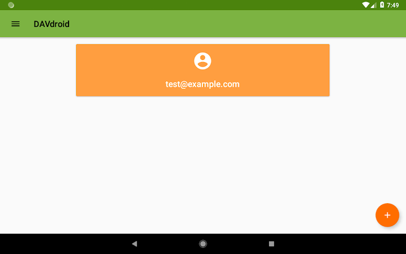 DAVx⁵ – CalDAV/CardDAV Client Screenshot 11
