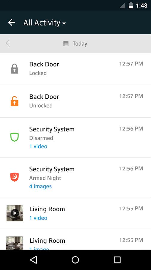 XFINITY Home - screenshot
